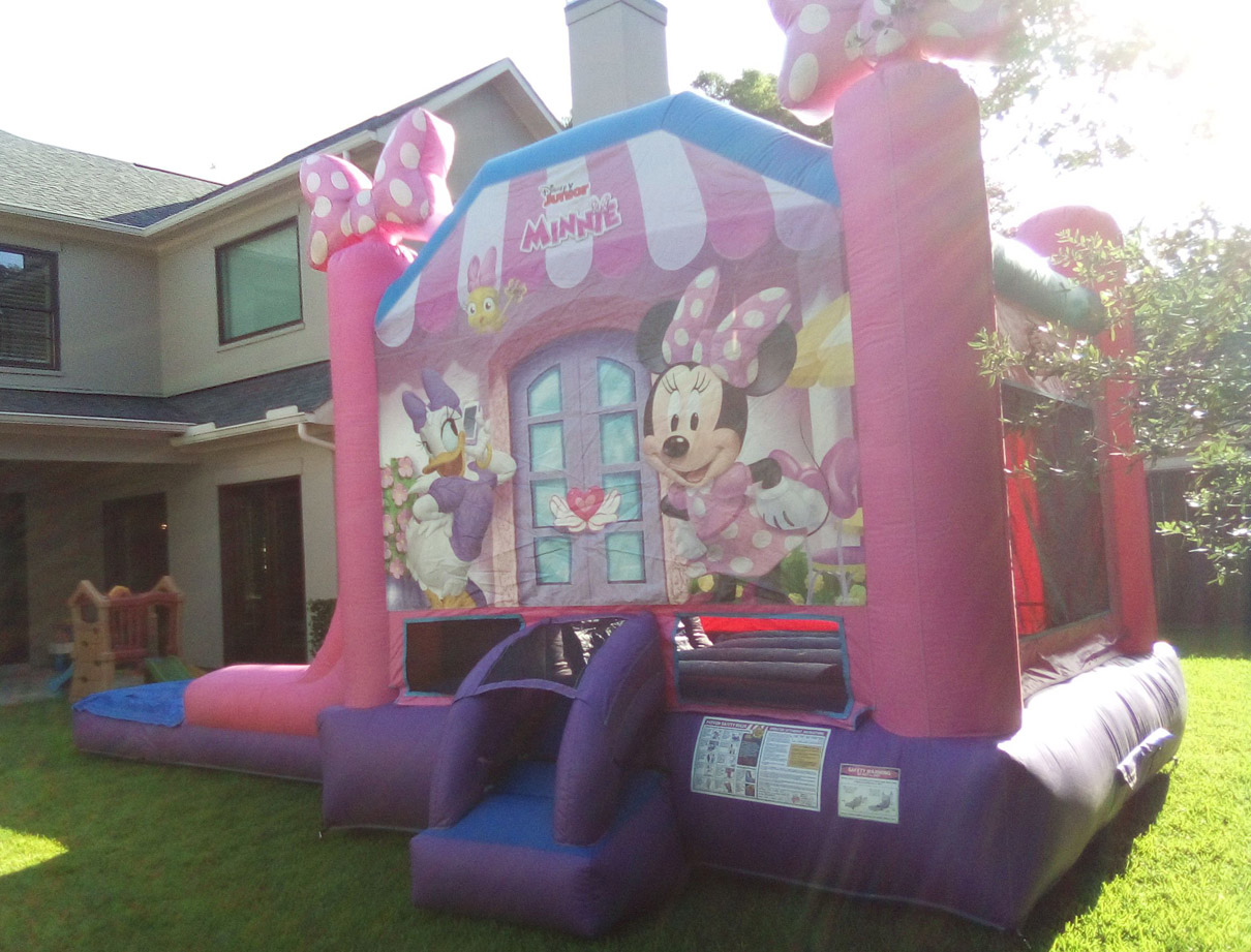 Minnie Mouse Jumphouse