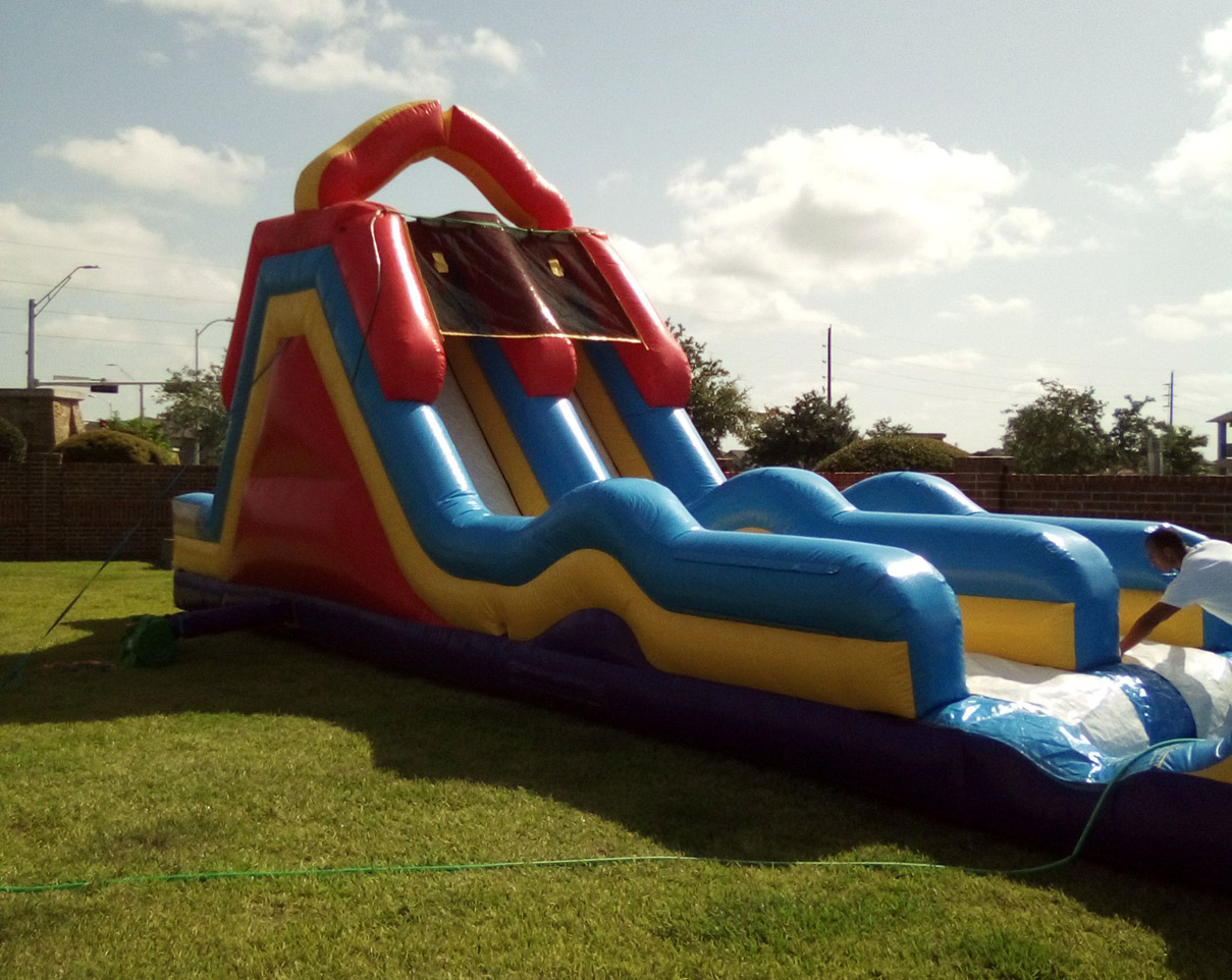 Monster Water Slide inflatable