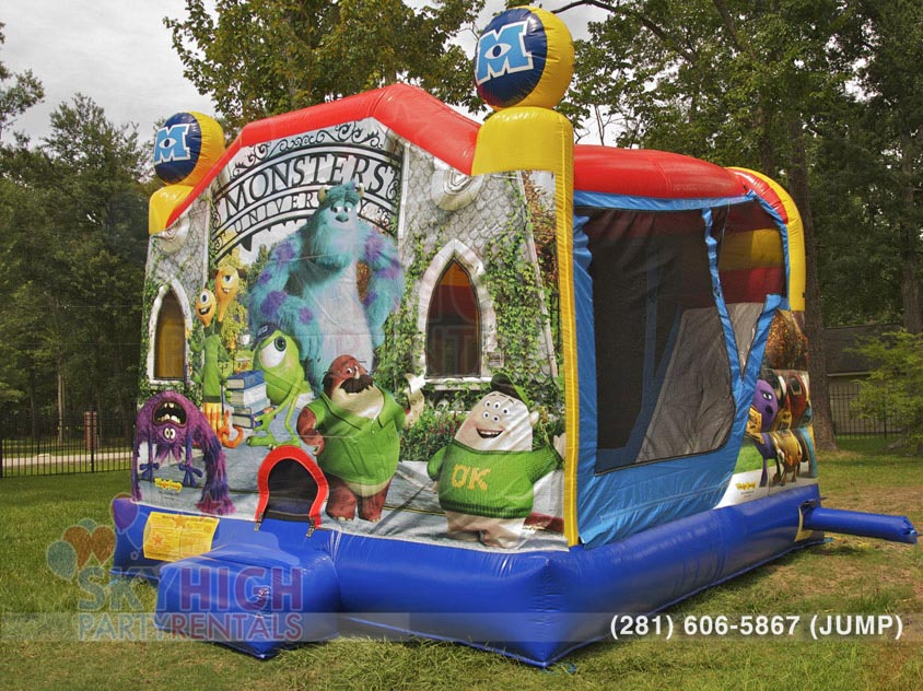 dallas-monsters-university-moonbounce-house