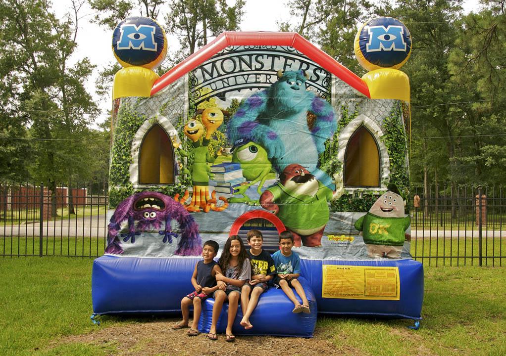 Monsters University moonwalk for rent