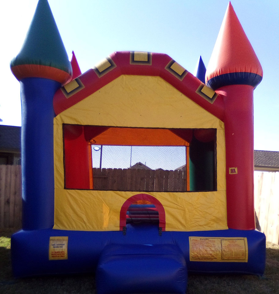 Castle bounce house party rentals