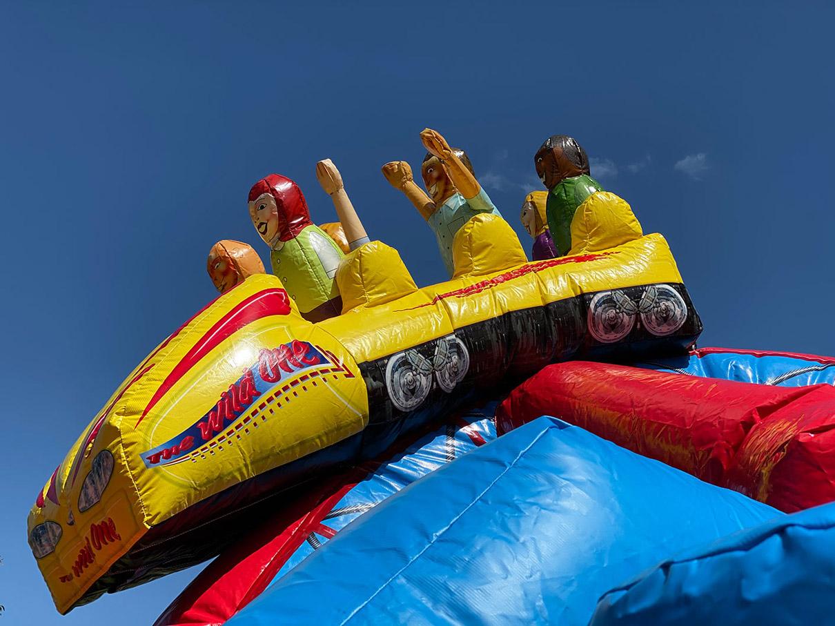 Inflatable Roller Coaster Rentals