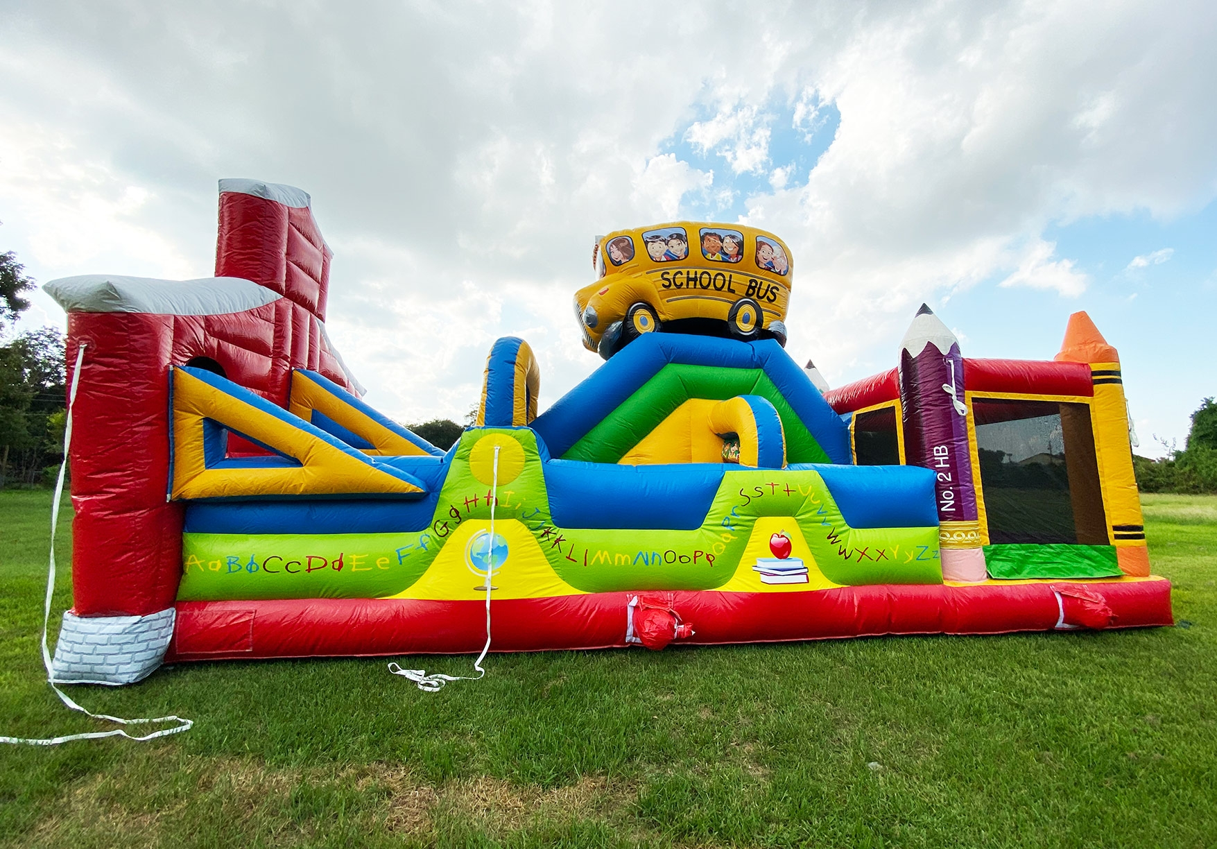 Kids Elementary Bounce House