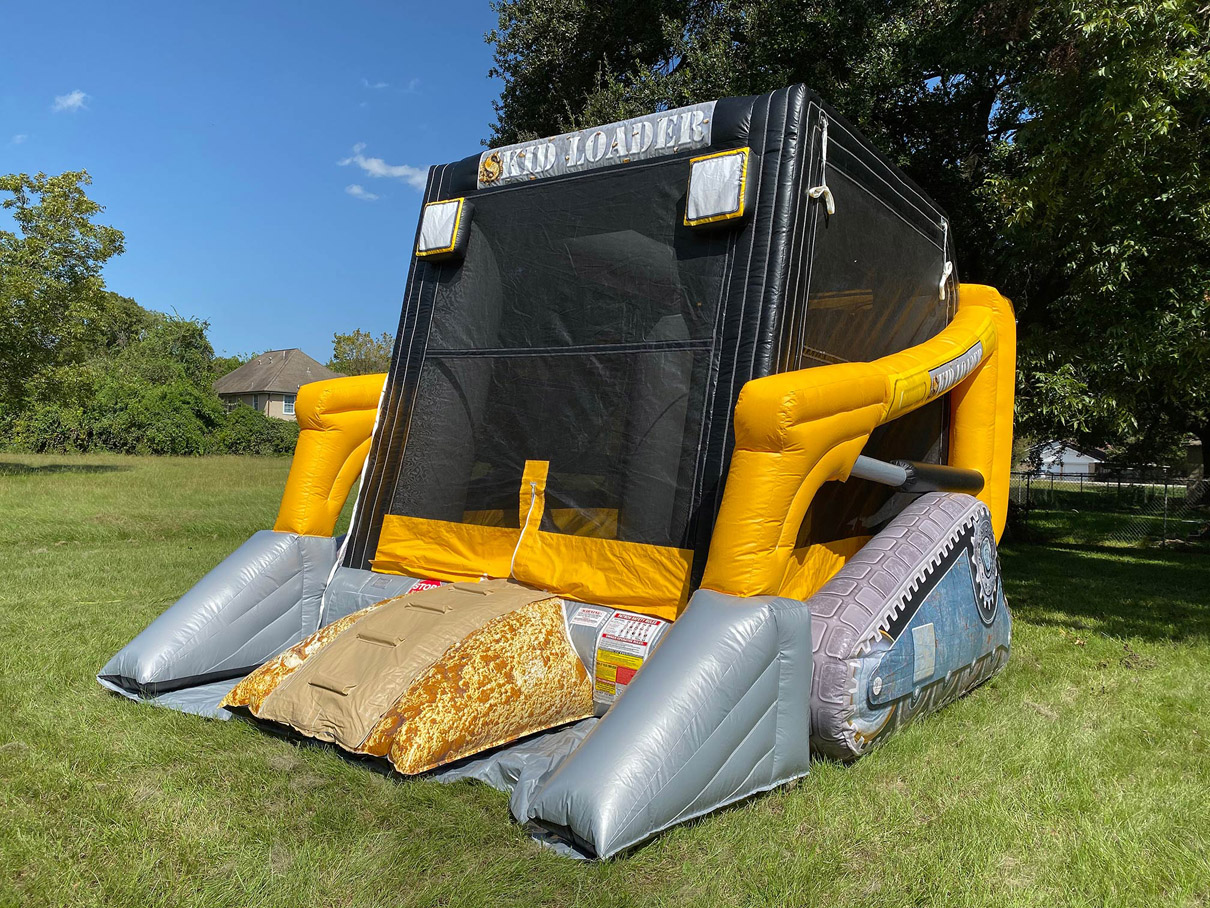 Skid Load Construction Bouncy Castle for Hire