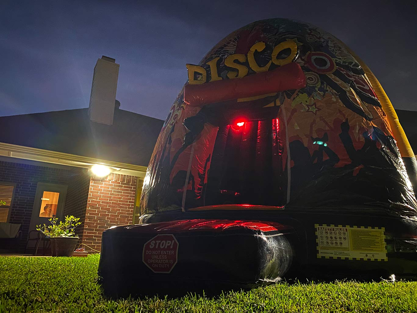 Disco Dome Bounce Castle Rentals