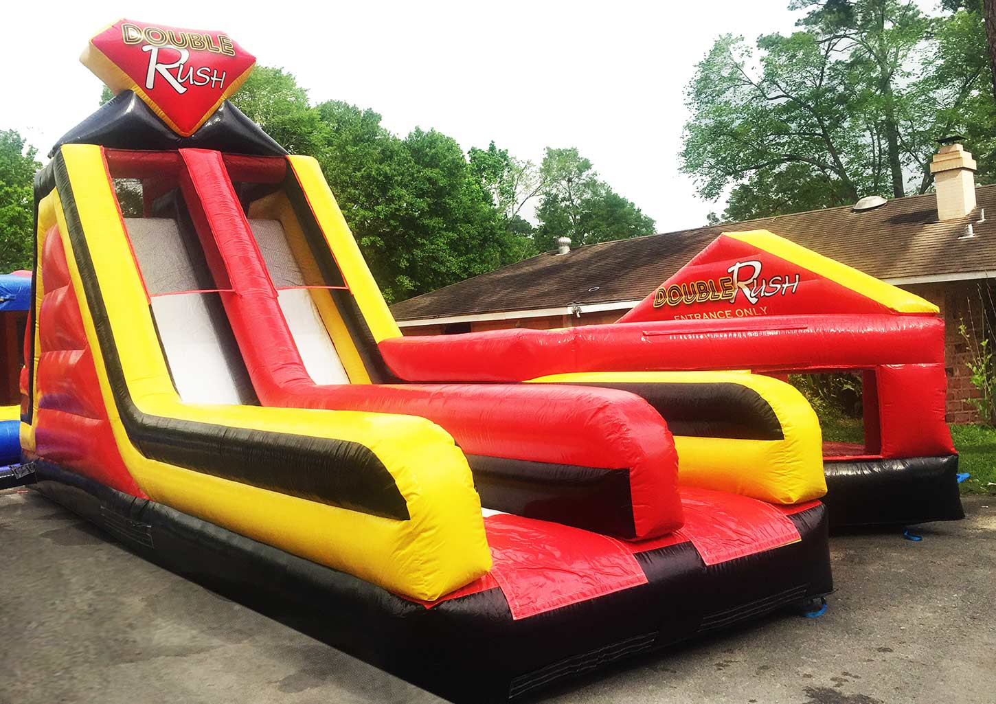 Double Rush Obstacle Rental