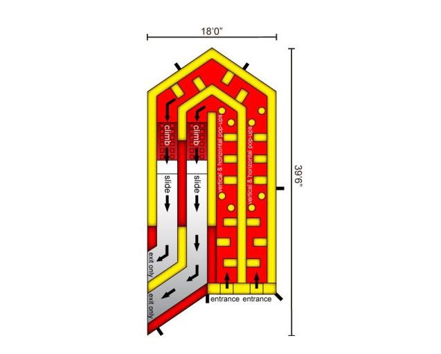 Double Rush Jump house Schematics