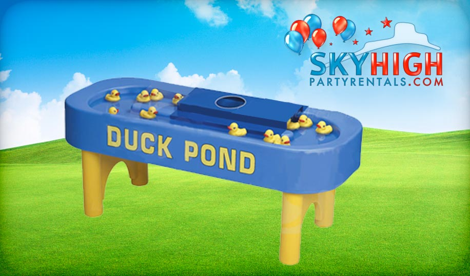 Duck Pond Carnival Game Houston Sky High Party Rentals