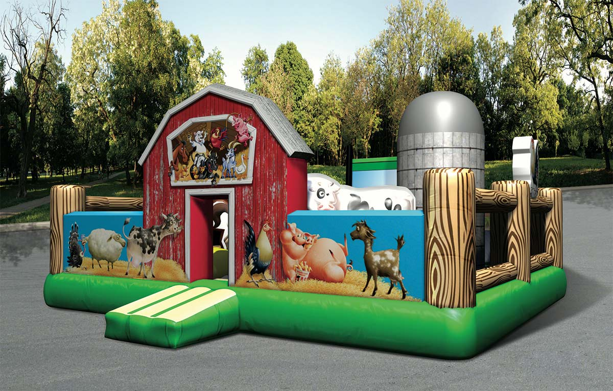 Farm yard Cow Toddler Obstacle