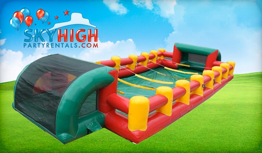 Human Foosball Team Building