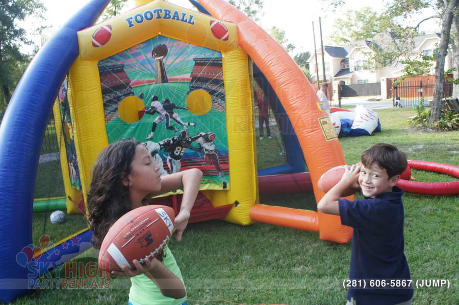 Football Toss in Houston, Texas Rentals