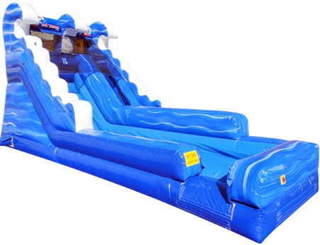 Little Surf Inflatable Water Wet Slide