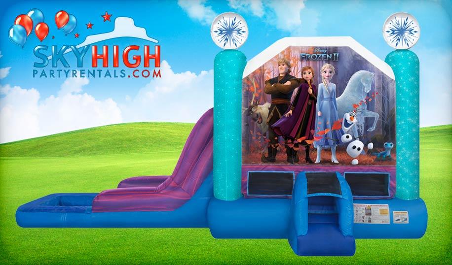 Frozen Bounce House Combo