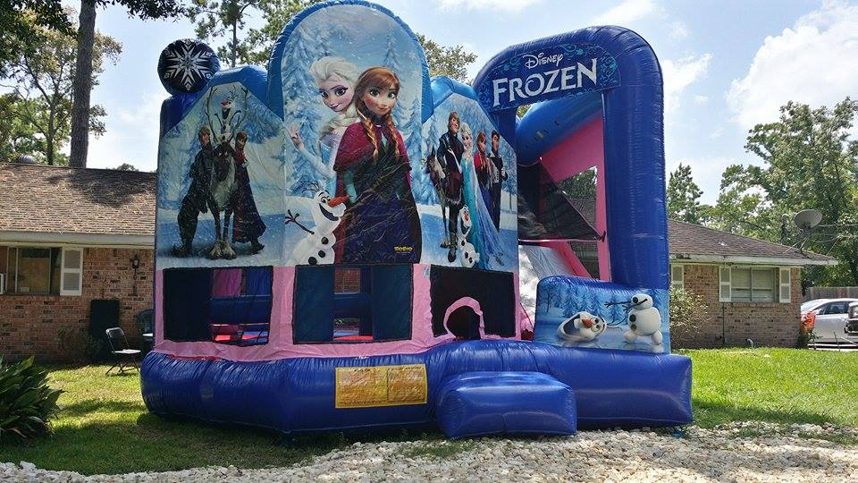 Frozen 5 in 1 Bounce House