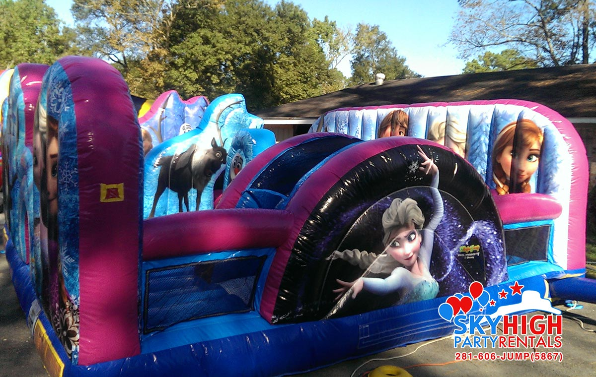 Anna Frozen Inflatable Birthday Party