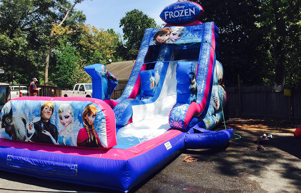 Wet Frozen Kids Party Rentals