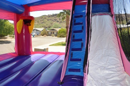 Inside Inflatable Frozen slide