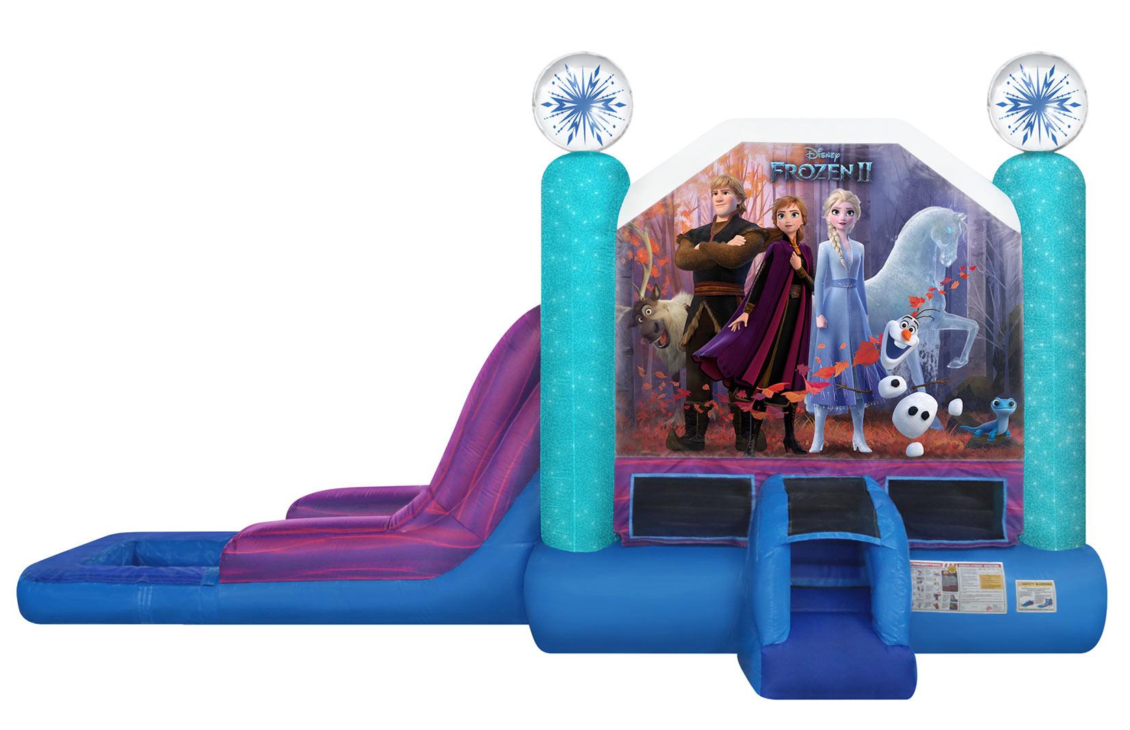 Frozen Bounce House Combo Rental