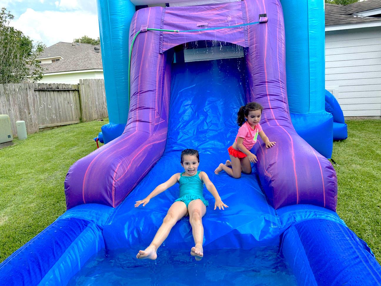 Frozen Bounce House Rentals Kids Sliding