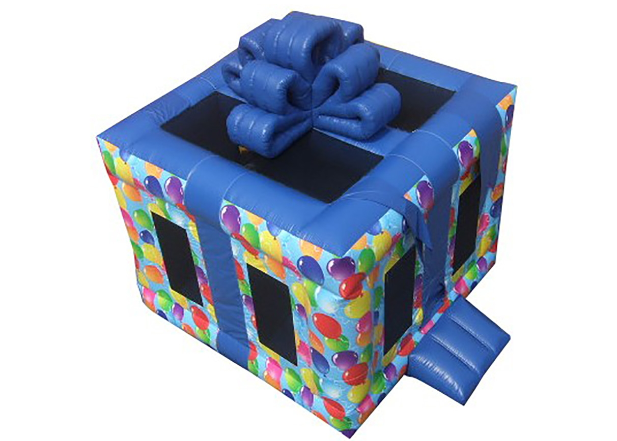 Top View Birthday Gift Bouncy Castle