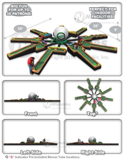 golf challenge schematics