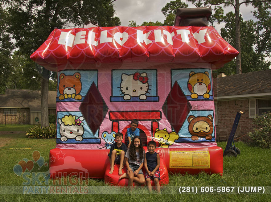 Hello Kitty Bounce House Houston