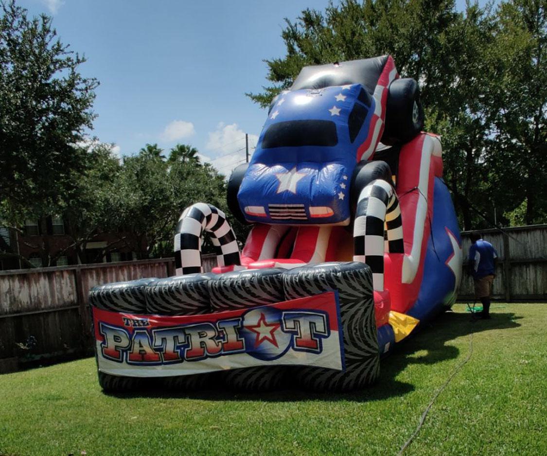 18ft High Patriot Slide