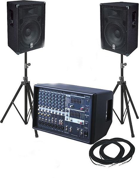 PA system rental houston