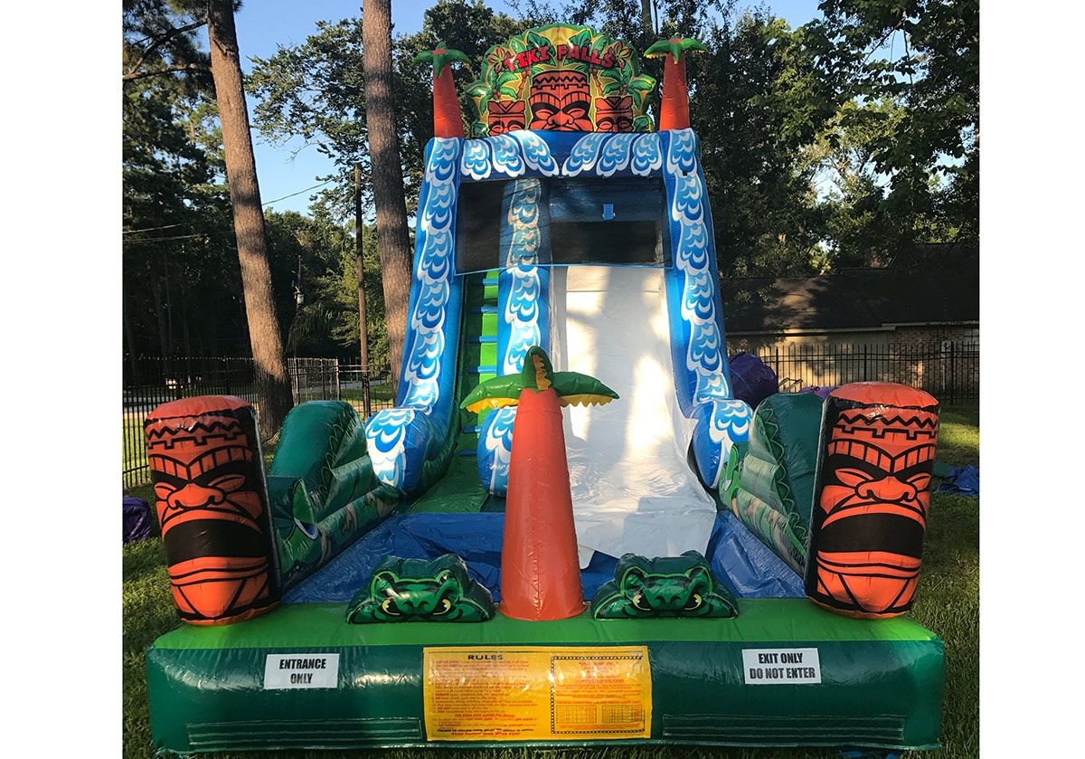 Summer Party Rentals Wet Water Slides Houston