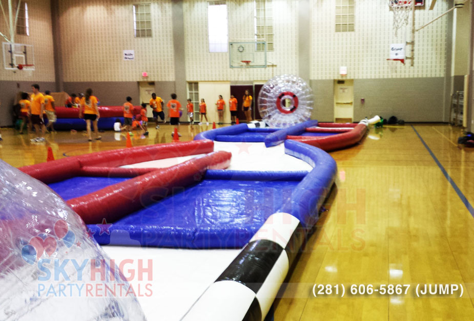 School Events with Zorbs