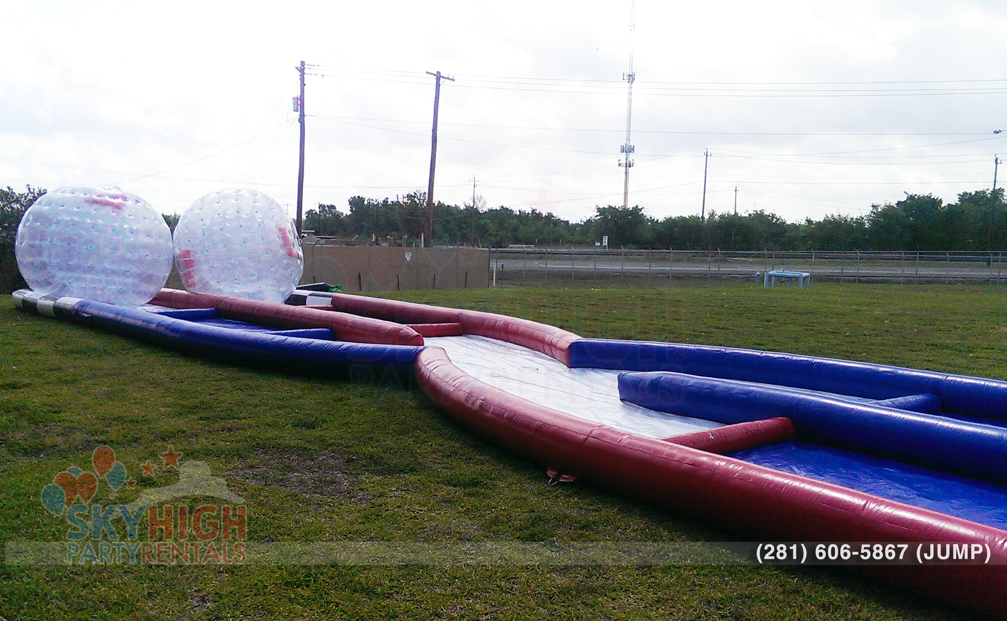 Fundraising Event Games with zorbs