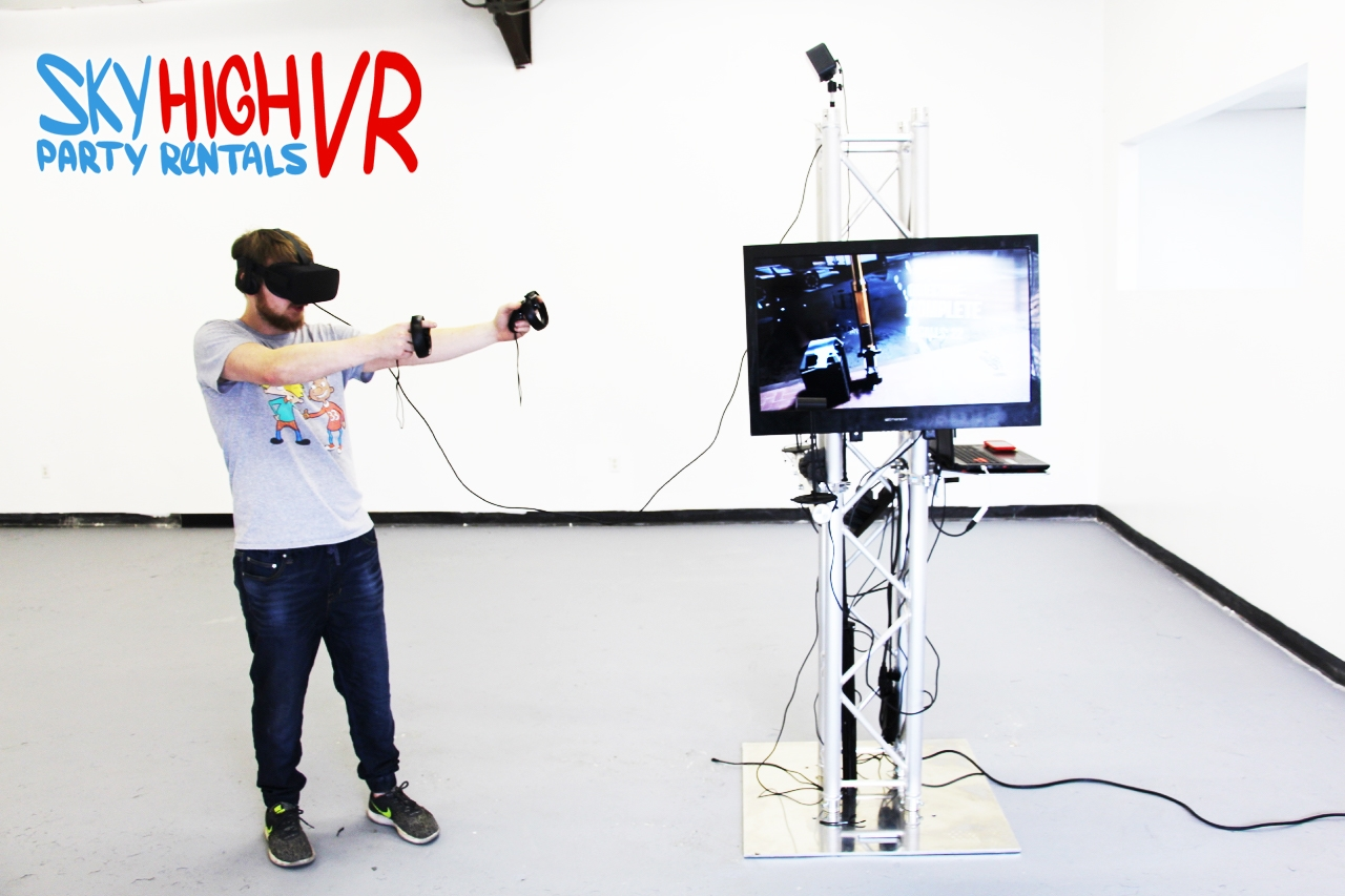 Oculus Rift Gaming VR Houston