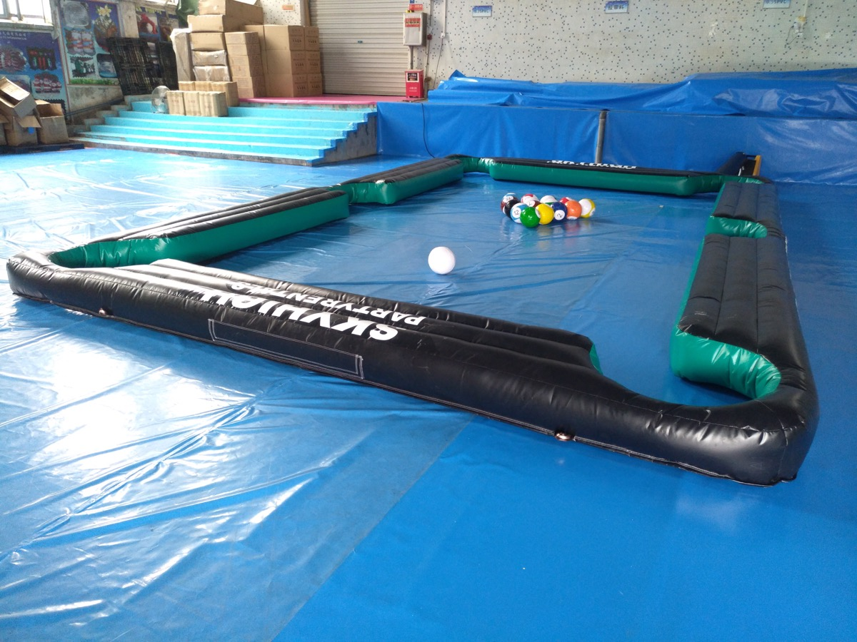 For Rent Inflatable Pool Billiard Table
