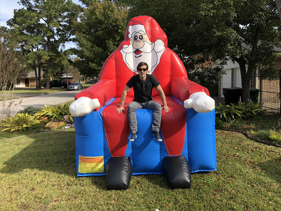 Giant Inflatable Chair Rentals