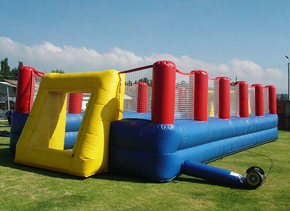 Houston Inflatable Soccer Field Rental