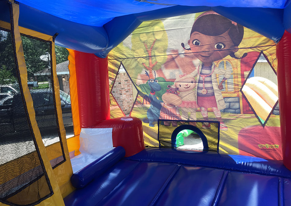 Jumpy Castle Doc Mcstuffins
