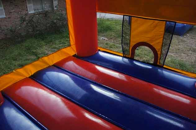 Inside Princess Modular Bouncy Castle