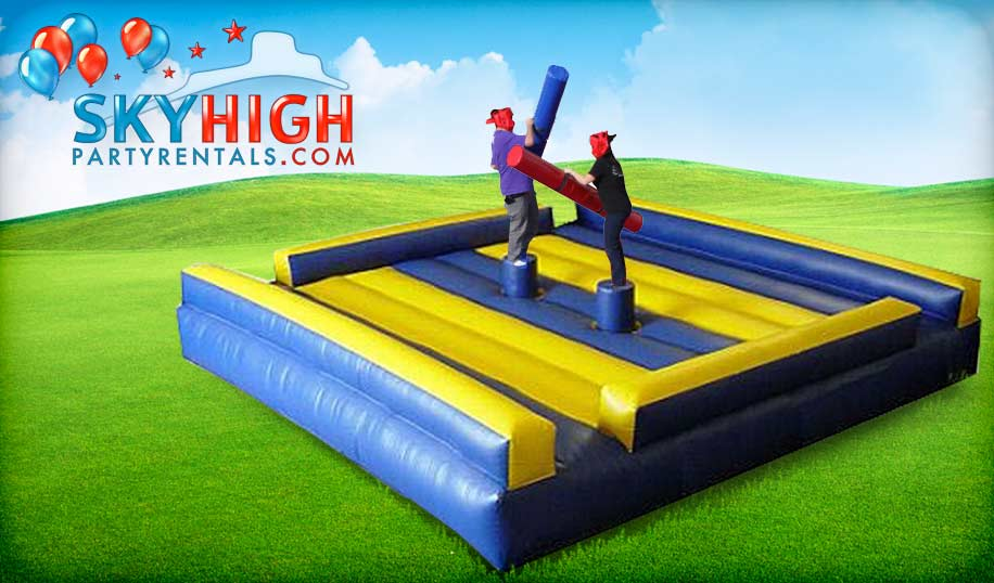 Joust Interactive Bounce House Game