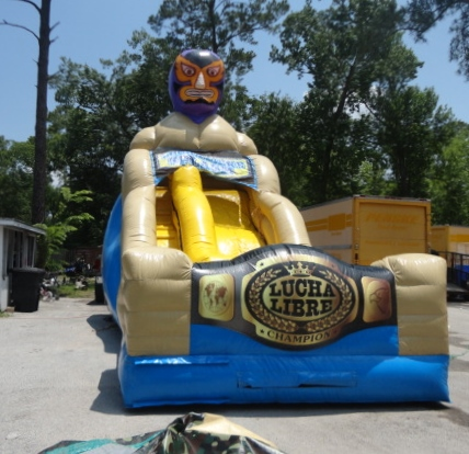 Lucha Libre Slide Side View