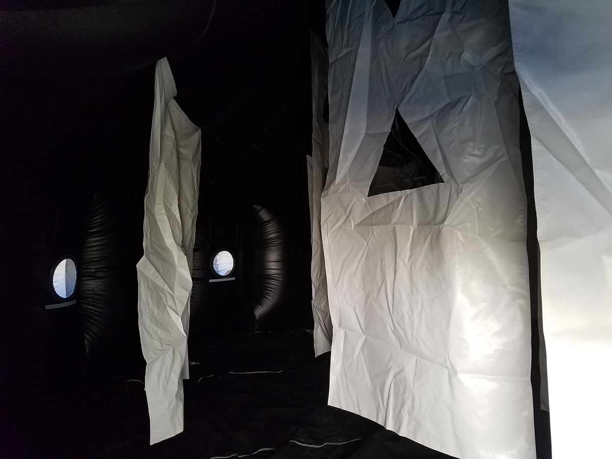 Inside Laser Tag Arena