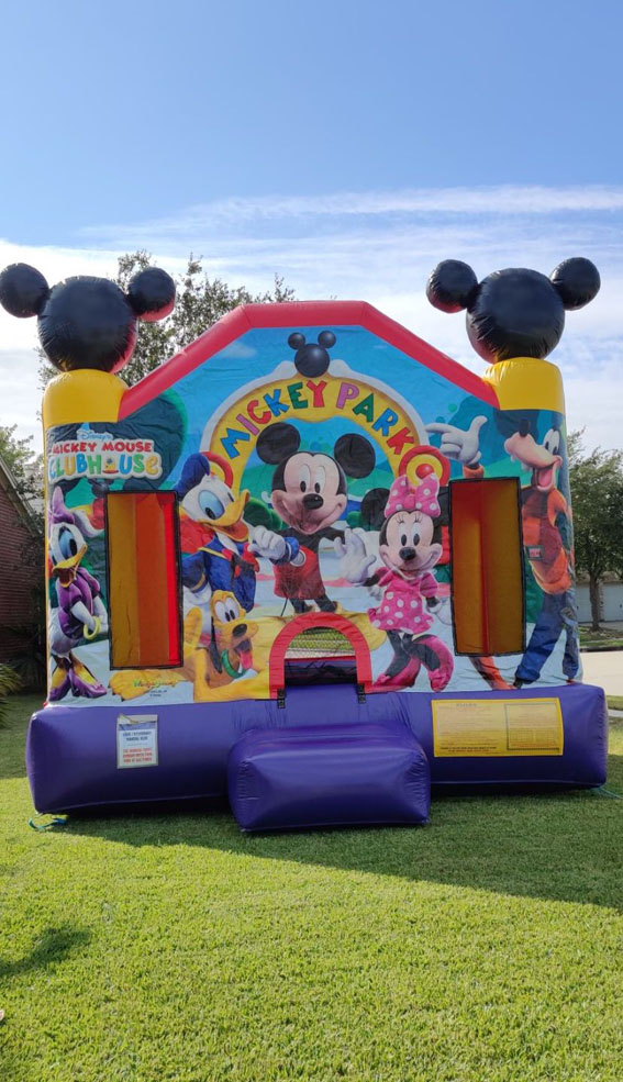 Mickey Bouncer for Small Yards