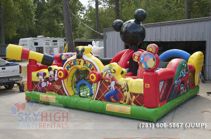 Mickey Toddler Jump House