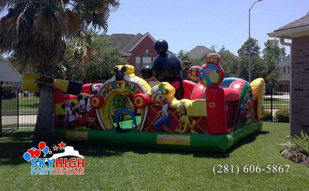 Mickey Inflatable Bouncey House
