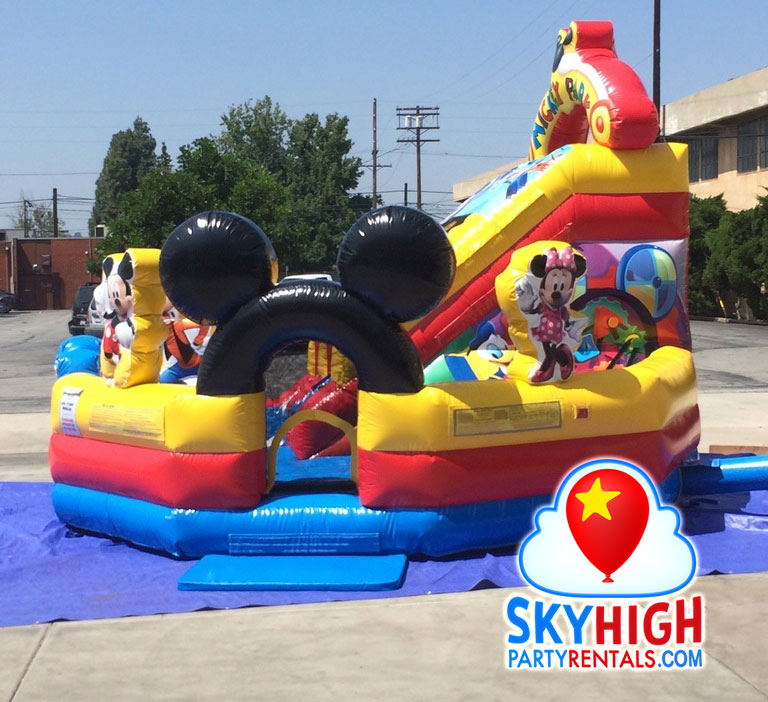Kids Party Rental themed Mickey Mouse