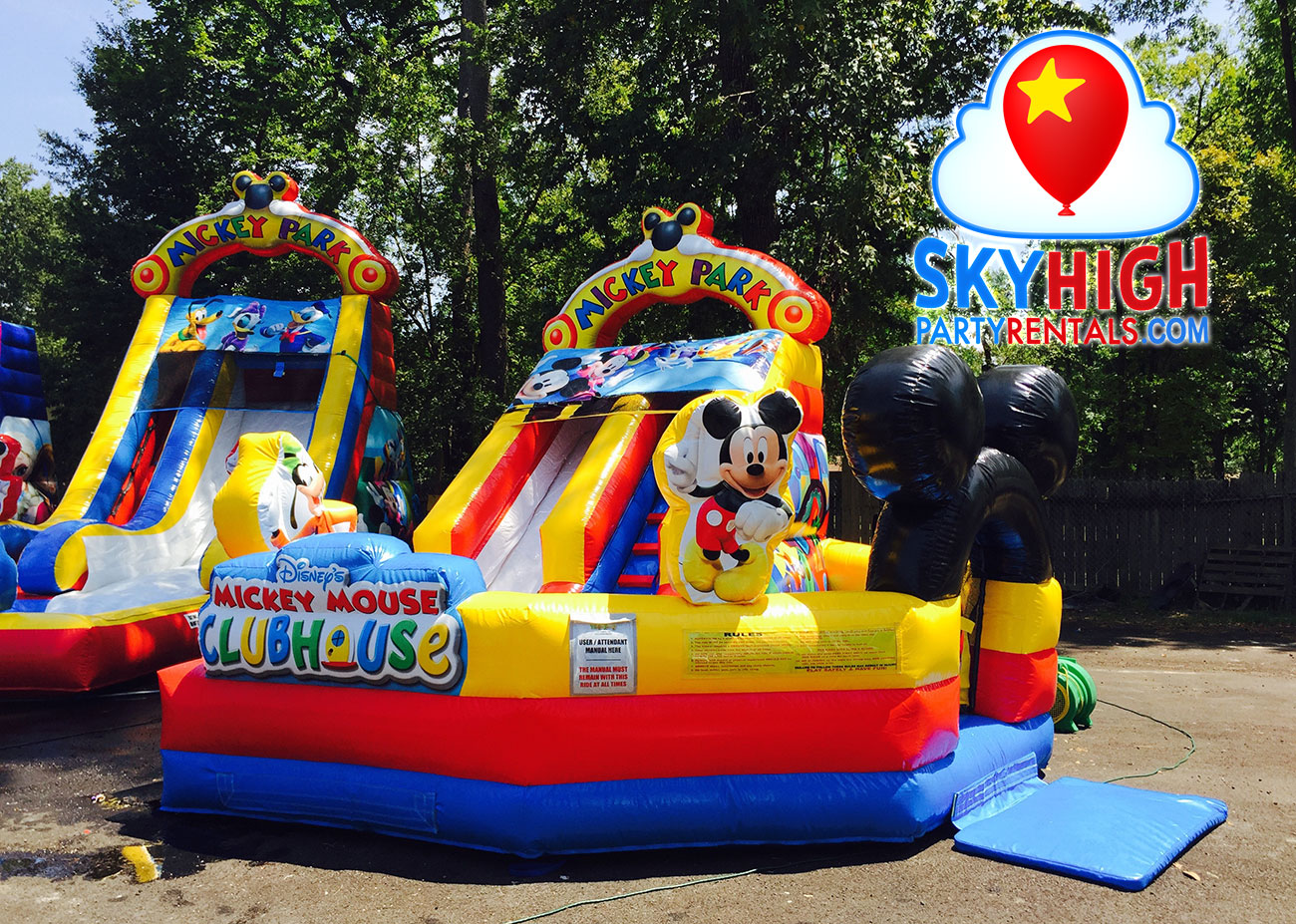 Mickey Toddler kids party inflatable