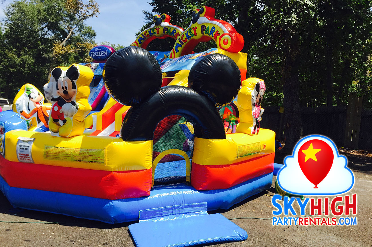 Mickey Mouse Toddler Playzone Inflatable
