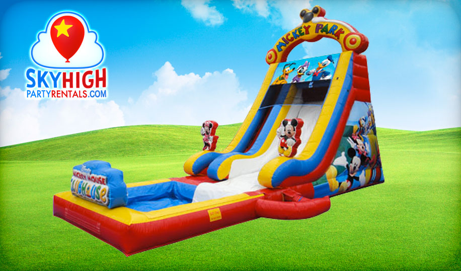 Mickey Mouse Water Slide Rentals
