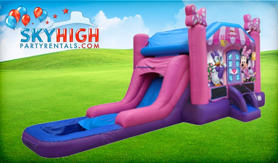 Minnie Mouse and Daisy Water Slide