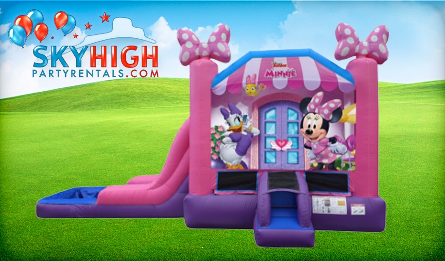 Minnie Mouse Daisy Water Slide Rentals