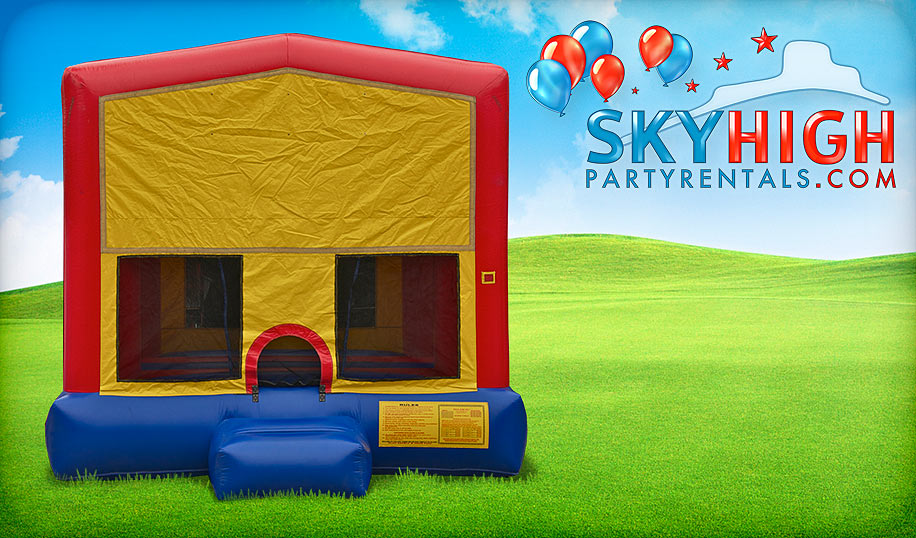 15 x 15 inflatable bounce house